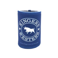 Signature Bull Stubby Cooler Navy