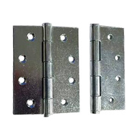 BUTT HINGE TRAILER UTE TOOL BOXES DOORS - 75mm x 100mm Pack of 2