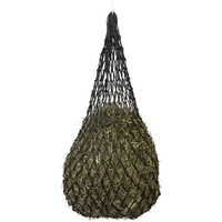 PREMIUM KNOTLESS HANGING HAY NET - (80cm x 90cm) FITS 2-3 BISCUITS OF HAY