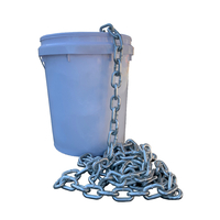 50kg 8mm Hot Dipped Gal Commercial Chain Medium Link (approx 39m)