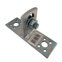 1x STAY ADAPTOR BRACKET - Timber Steel Post Pipe