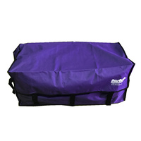 PURPLE HAY BALE BAG Hook and Loop Fastener Tape Carry Storage Water Ski Wake Board Camping Horse Riding