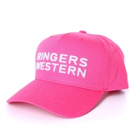 Channel Baseball Cap Pink
