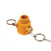 "1x 3"" NYLON NYGLASS CAMLOCK FITTING - TYPE B (CAM-B 3"") Irrigation Fitting"