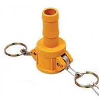 "1x 1"" NYLON NYGLASS CAMLOCK FITTING - TYPE C Irrigation Fitting (CAM-C 1"")"