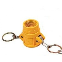 "1x 4"" NYLON NYGLASS CAMLOCK FITTING - TYPE D Irrigation Fitting (CAM-D 4"")"
