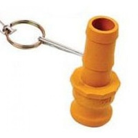 "1x 2"" NYLON NYGLASS CAMLOCK FITTING - TYPE E (CAM-E 2"") Irrigation Fitting"
